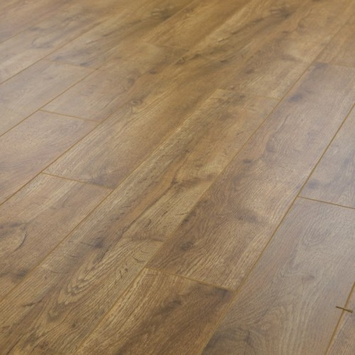 15mm Atlanta Oak V Groove Embossed Laminate Flooring