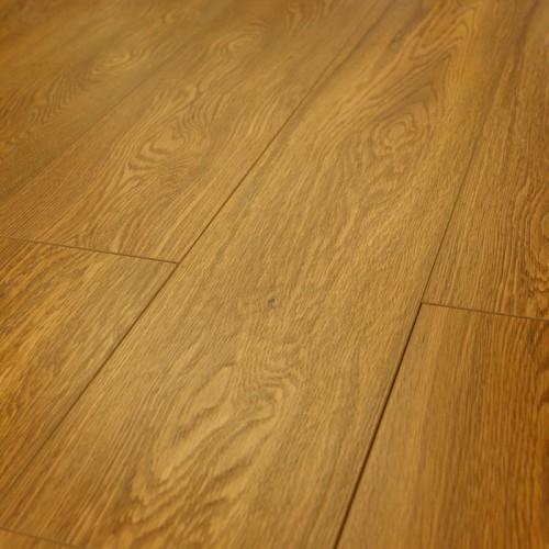 15mm London Golden Oak V Groove Embossed Laminate Flooring