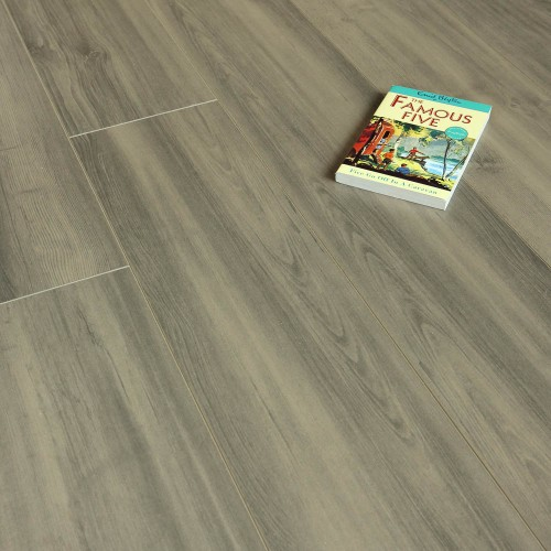 Balento Quietwalk Silverton Grey Wood 10mm Laminate Flooring Overlay Image