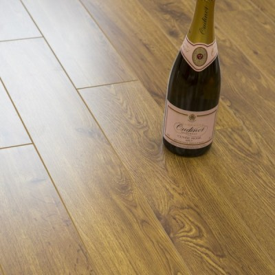 Balento Olympic 15mm St Louis Oak V Groove Embossed Laminate Flooring