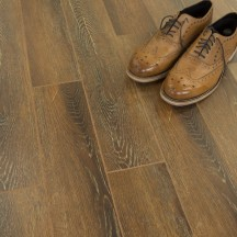 Balento Olympic 15mm Paris Dark Oak V Groove Embossed Laminate Flooring